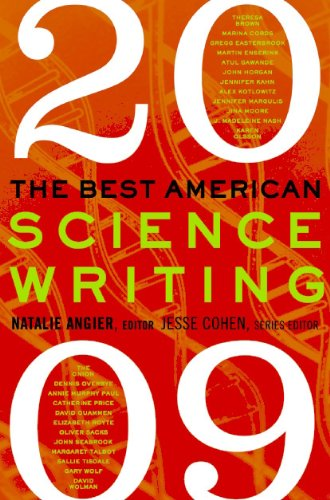 Best American Science Writing 2009  N/A 9780061431661 Front Cover
