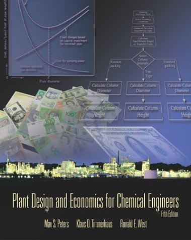 Plant Design and Economics for Chemical Engineers  5th 2003 (Revised) edition cover