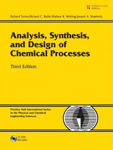 Analysis, Synthesis and Design of Chemical Processes  3rd 2009 edition cover