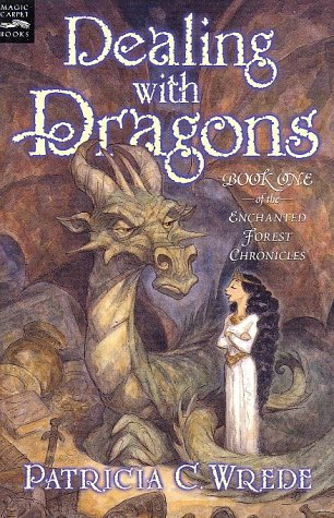 Dealing with Dragons   1990 edition cover