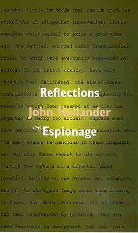 Reflections on Espionage The Question of Cupcake  2000 9780300079661 Front Cover