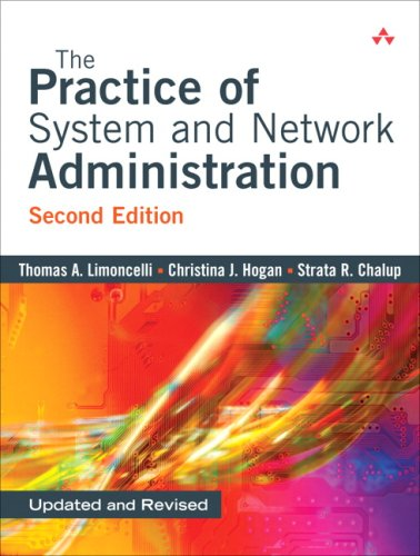Practice of System and Network Administration  2nd 2008 edition cover