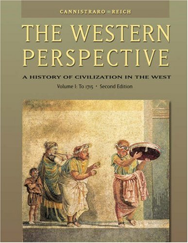 Western Perspective Prehistory to the Enlightenment, to 1715 2nd 2004 (Revised) edition cover