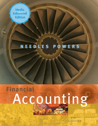 Eduspace Booklet for Needles/Powers' Financial Accounting: Media Enhanced, 9th  9th 2009 9780547209661 Front Cover