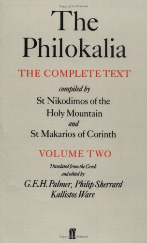Philokalia The Complete Text  1981 edition cover