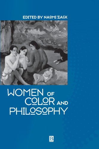 Women of Color and Philosophy A Critical Reader  2000 9780631218661 Front Cover