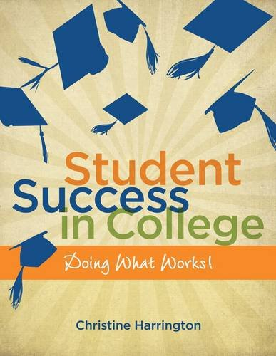 Student Success in College Doing What Works!  2013 edition cover
