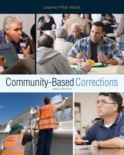 Community-Based Corrections  9th 2013 edition cover