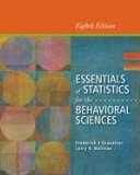ESSEN.OF STAT.F/BEHAV.SCI.-W/A N/A edition cover
