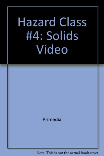 Hazard Class #4: Solids Video   1998 9781401863661 Front Cover