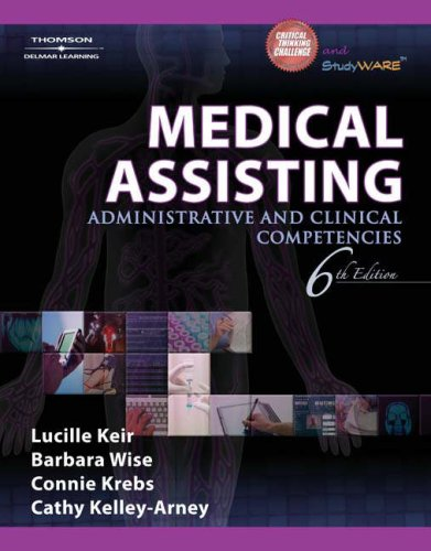 Medical Assisting Administrative and Clinical Competencies 6th 2008 (Revised) edition cover