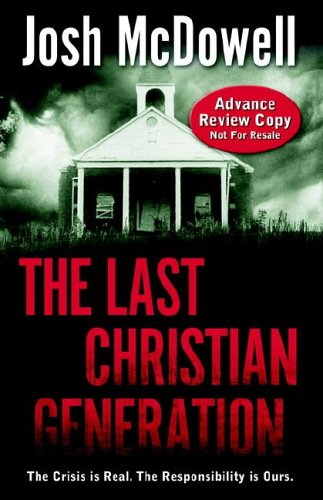 Last Christian Generation 1st edition cover