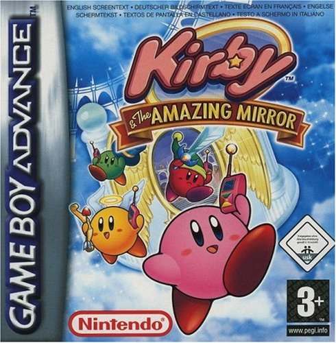 Kirby and the Amazing Mirror Game Boy Advance artwork
