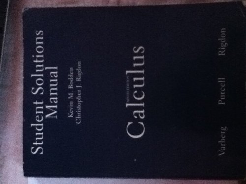 Calculus  9th 2007 edition cover