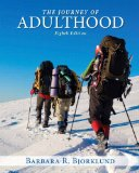 Journey of Adulthood + New Mysearchlab With Pearson Etext Access Card Package:   2014 edition cover