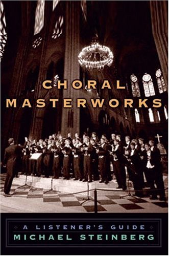 Choral Masterworks A Listener's Guide  2008 edition cover