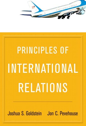 Principles of International Relations   2009 edition cover