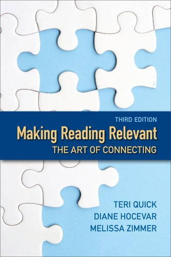Making Reading Relevant The Art of Connecting 3rd 2014 edition cover