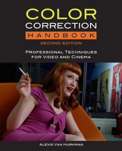Color Correction Handbook with Access Code Professional Techniques for Video and Cinema 2nd 2014 edition cover