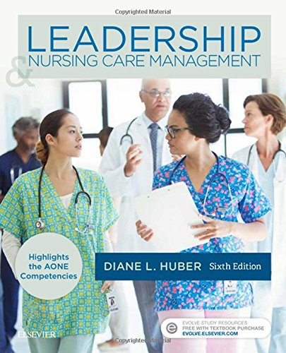Leadership and Nursing Care Management  6th 2018 9780323389662 Front Cover