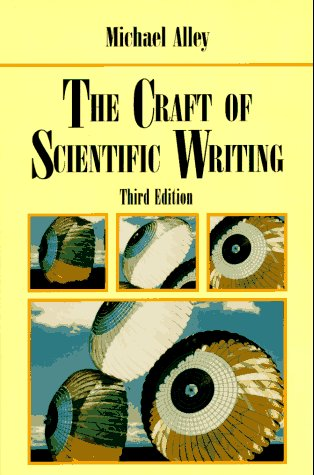 Craft of Scientific Writing  3rd 1996 (Revised) edition cover