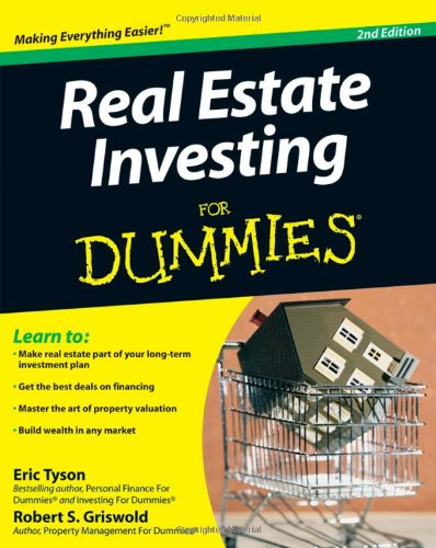 Real Estate Investing for Dummies  2nd 2009 edition cover
