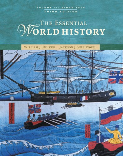 Essential World History - Since 1500  3rd 2007 (Revised) edition cover