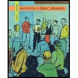 INVITATION TO PUBLIC SPEAKING 2nd 2006 9780495154662 Front Cover