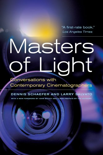 Masters of Light Conversations with Contemporary Cinematographers  2012 edition cover
