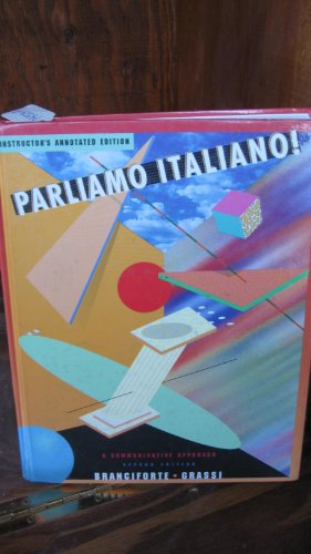PARLIAMO ITALIANO! >INSTRS.ANN 2nd 2002 9780618102662 Front Cover