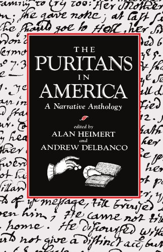 Puritans in America A Narrative Anthology  1985 edition cover