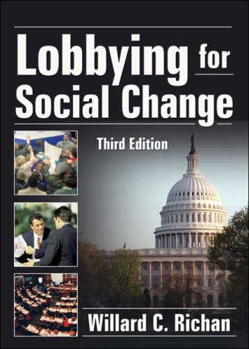 Lobbying for Social Change  3rd 2007 (Revised) edition cover
