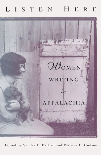 Listen Here Women Writing in Appalachia  2003 edition cover