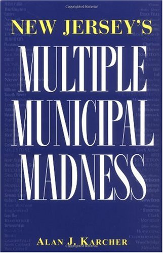 New Jersey's Multiple Municipal Madness   1998 edition cover