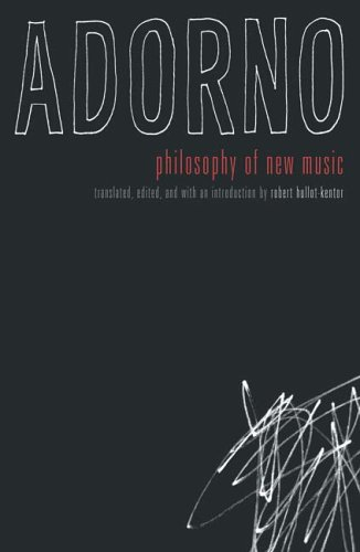 Philosophy of New Music   2006 edition cover