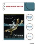 Calculus for Life Sciences   2014 edition cover