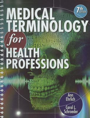 Medical Terminology for Health Professions (Book Only)  7th 2013 edition cover