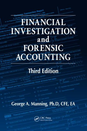 Financial Investigation and Forensic Accounting  3rd 2010 (Revised) 9781439825662 Front Cover