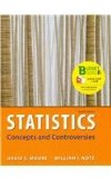 Statistics, Concepts and Controversies (Loose Leaf), EESEE Access Card, and Portal Access Card  8th 2014 edition cover