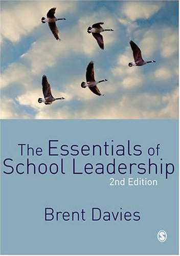 Essentials of School Leadership  2nd 2009 edition cover