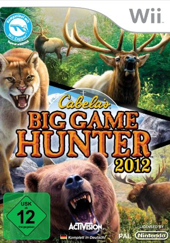 Cabela's Big Game Hunter 2012 Nintendo Wii artwork
