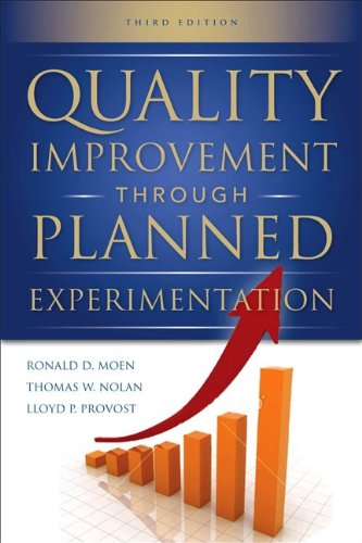 Quality Improvement Through Planned Experimentation  3rd 2012 edition cover
