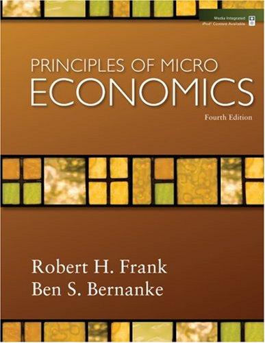 Principles of Microeconomics  4th 2009 edition cover