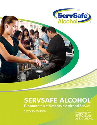 Servsafe Alcohol Fundamentals of Responsible Alcohol Service 2nd 2011 edition cover