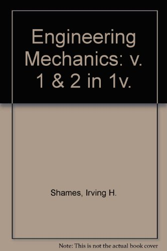 Engineering Mechanics 3rd 1980 9780132791663 Front Cover