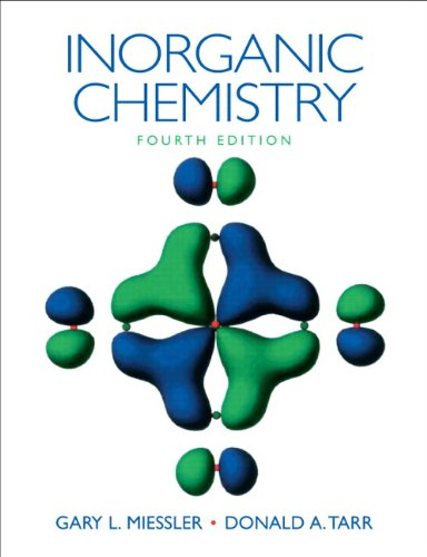 Inorganic Chemistry  4th 2011 edition cover