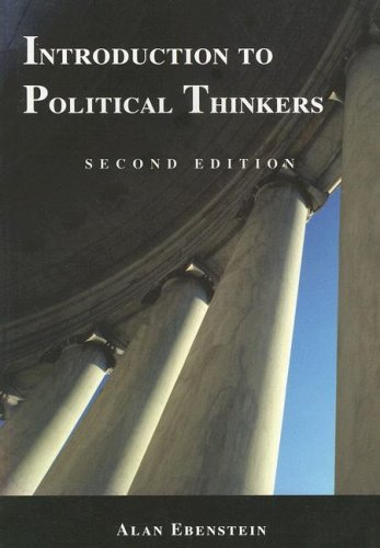 Introduction to Political Thinkers  2nd 2002 (Revised) edition cover