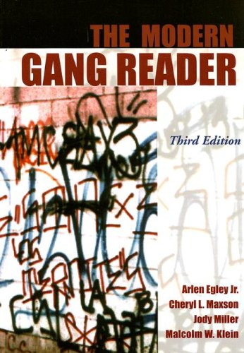 Modern Gang Reader  3rd 2006 edition cover