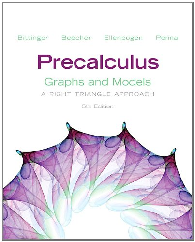 Precalculus Graphs and Models and Graphing Calculator Manual Package 5th 2013 (Revised) edition cover