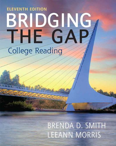 Bridging the Gap  11th 2014 edition cover